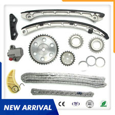 Timing Chain Kit For Mazda 3 6 CX-7 2.3L MPS TURBO L3K9 with Camshaft VVT Gear
