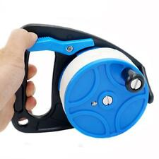 Scuba Spool Reel Cave Wreck Diving Snorkeling 83m Line with Thumb Stopper
