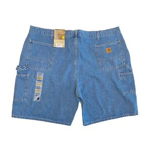 NWT Carhartt Denim Work Jean Shorts Size 48 Original Fit