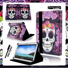 """Folio Stand Leather Cover Case For Samsung Galaxy Tab E 8.0"""" / 9.6"""" + STYLUS"""