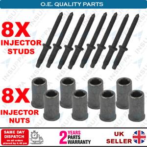 8X Injector Stud Nut Kits For Ford Focus Fiesta Fusion C-Max 1.6 TDCi Original