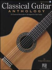 Classical Guitar Anthology TAB Music Book with Audio Bach Elgar Tchaikovsky