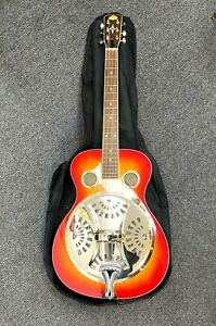 AS NEW Regal Washburn Resonator Acoustic Guitar