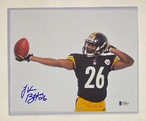 Le'Veon Bell Pittsburgh Steelers  Signed 8x10 Photo Autograph Beckett BAS COA