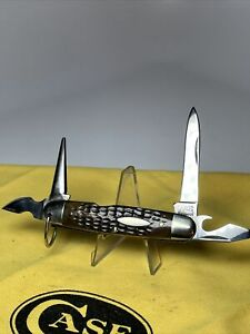 CASE TESTED XX1920-40 GREEN BONE CAMP FOLDING POCKET KNIFE