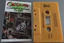Caroline ~ CONCRETE BLONDE Cassingle (Cassette Tape Single)
