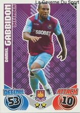 312 DANIEL GABBIDON # WALES WEST HAM UNITED CARD PREMIER LEAGUE 2011 TOPPS