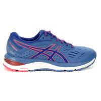 ASICS Women's Gel-Cumulus 20 Azure/Blue Print Running Shoes 1012A008.401 NEW