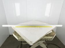 "50x50mm Flex Link Style Aluminum Modular Table Top Conveyor Structure Beam 79"""