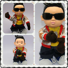 PSY Gangnam Style Singing + 1 Dancing Button Switch Doll Figures
