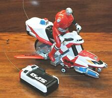 Power Rangers 2004 Bandai S.P.D Red Ranger Policeman Remote Control Motorcycle