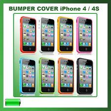 COVER BUMPER CUSTODIA SLIM PER IPHONE 4 IN TPU PER APPLE IPHONE4/4S