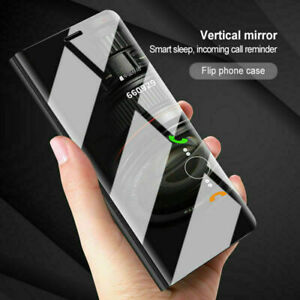 New!! Smart Clear View Leather 360 Case Cover for Huawei P Smart 2019