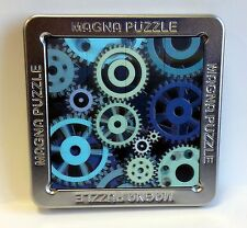 3-D Lenticular Gears Magna Puzzle by Outset Media. Magnetic, travel