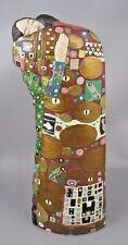 "GUSTAV KLIMT The Netherland Figurine Statue WOMAN & MAN ""The Fulfillment"""