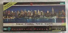 New York Ny Bgi Panoramic Puzzle 750 Pieces Glow In The Dark Jigsaw Puzzle Nib