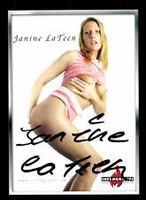 Janine La Teen Autogrammkarte Original Signiert # BC 91407
