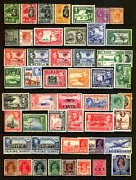 Commonwealth  KGV - KGV1  Fine Selection of MINT Stamps.