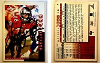 Warrick Dunn Signed 1998 Score #3 Card Tampa Bay Buccaneers Auto Autograph