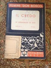FILMINE DON BOSCO IL CREDO PARTE 1 ACCETTABILE!!!1939