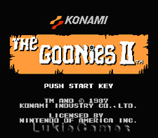 The Goonies II 2 - NES Nintendo Game