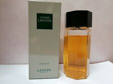 Vetyver Lanvin Aftershave Lotion 115ml Splash Vintage Very Rare