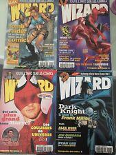 Lot 11 Magazines Wizard + 8 supléments wizard