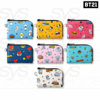 BTS BT21 Official Authentic Goods Pop Card Pocket By Monopoly 115x85x10mm