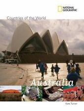 National Geographic Countries of the World: Australia, Turner, Kate, Good Condit