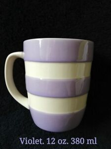 T. G Green Cornishware 12oz Mug 380ml. Violet colour Brand new. Rare