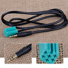 3.5mm Jack Aux Input Adapter Auxiliary Cable Mp3 Fit For Renault Clio 2005-2011
