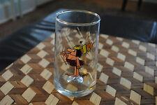 Vintage Arby's Caveman Cavewoman Collectible Glass 1981 Rare Retro
