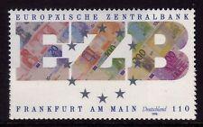 WEST GERMANY MNH STAMP DEUTSCHE BUNDESPOST EUROPEAN CENTRAL BANK 1998 SG 2859