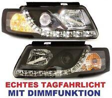 LED TAGFAHRLICHT SCHEINWERFER VW PASSAT 3B 96-10 SCHWARZ DIMMFUNKTION TFL-MODUL