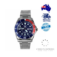Seiko Sea Urchin Pepsi 38mm SNZF27 Automatic Mens Divers Watch