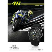 New Genuine TW Steel TW937 VR46 ROSSI 48mm Black PVD Watch YAMAHA Motogp M1 R1