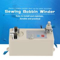 Automatic Electric Bobbin Winder For Sewing Machine Bobbin Winding Auto 220V