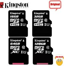 KINGSTON Micro SD Card 16GB 32GB 64GB 128GB Class 10 Samsung Nintendo Android