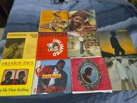 Lot Of 10 Reggae Oldies LP's #1