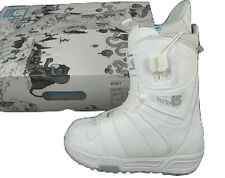New Burton Mint Snowboard Boots! Us 4, Uk 2.5, Mondo 21, Euro 34 *White*