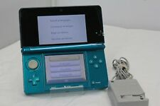 Nintendo 3DS Aqua Blue Handheld System (02-2F)