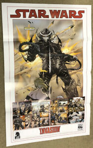 Star Wars Dark Horse Comics Promo Art Poster ~ Invasion / LucasFilm