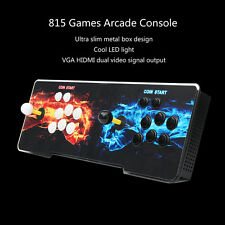 815 Video Games Double Joystick Arcade Console Machine 2Players Pandora's Box 4S
