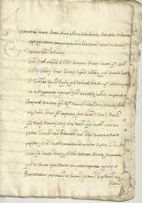 Antico Documento Manoscritto Settecentesco Tutela dei Pupilli della Bona 1762