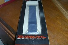 Blackweb Blue Replacement Band With Magnetic Clasp For Use With Apple Watch 42mm