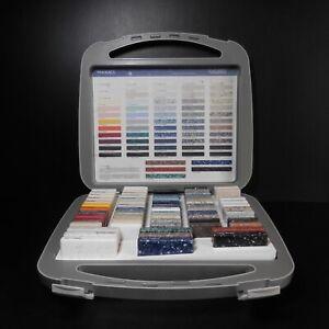 Briefcase Display/Stand LG Hi-Macs Natural Acrylic Stone Volcanics Granite