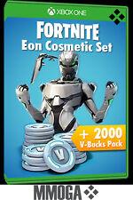 Xbox One Fortnite Eon Cosmetic Set + 2200 V-Bucks - Microsoft Spiel Code [EU/DE]