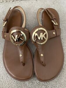 Michael Kors Brown Sandals Size UK 5