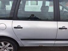 Ford Galaxy VW Sharan Tür komplett hinten rechts in silber Metalic 2002 Bj