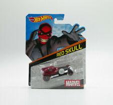 Hot Wheels Marvel RED SKULL Character Car 2014 1:64 New Free Shipping